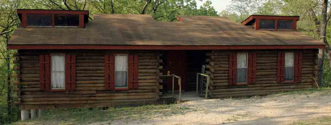 cabins outside 1